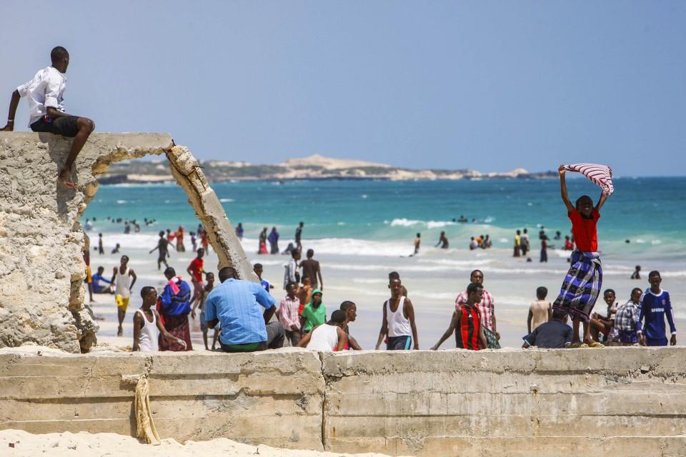 Mogadishu's Lido Beach Lively after Shabaab Withdrawal