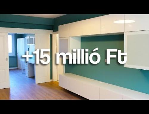 Kelenföldi PANELLAKÁS KIMAXOLVA – A 15 milliós felújítás